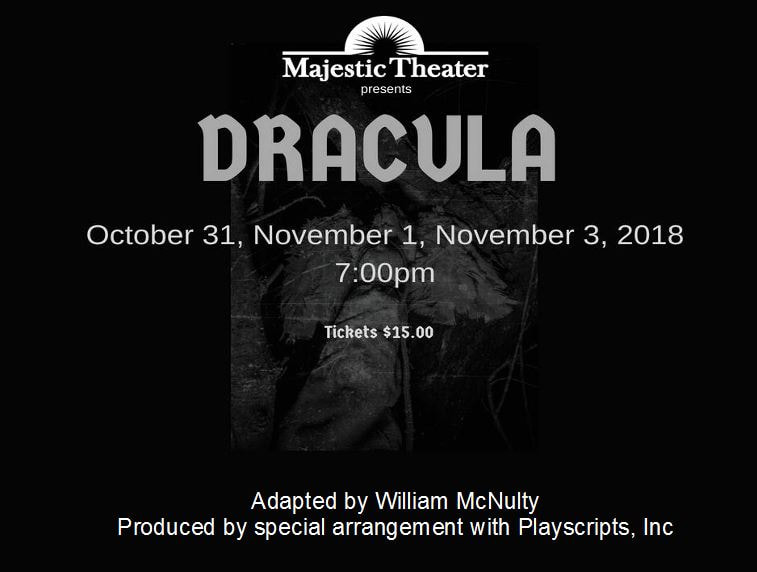 Majestic Theater - Coming Events